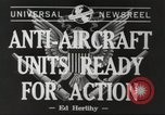 Image of anti aircraft unit California United States USA, 1942, second 2 stock footage video 65675059548