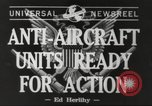 Image of anti aircraft unit California United States USA, 1942, second 3 stock footage video 65675059548