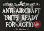 Image of anti aircraft unit California United States USA, 1942, second 6 stock footage video 65675059548