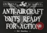Image of anti aircraft unit California United States USA, 1942, second 7 stock footage video 65675059548