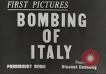 Image of Lancaster bombers Genoa Italy, 1942, second 2 stock footage video 65675059557