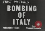 Image of Lancaster bombers Genoa Italy, 1942, second 3 stock footage video 65675059557