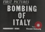 Image of Lancaster bombers Genoa Italy, 1942, second 5 stock footage video 65675059557