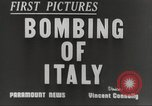 Image of Lancaster bombers Genoa Italy, 1942, second 6 stock footage video 65675059557