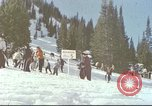Image of avalanche Alta Utah USA, 1950, second 1 stock footage video 65675059576