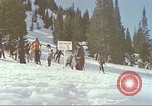 Image of avalanche Alta Utah USA, 1950, second 2 stock footage video 65675059576