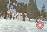 Image of avalanche Alta Utah USA, 1950, second 3 stock footage video 65675059576
