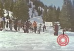 Image of avalanche Alta Utah USA, 1950, second 4 stock footage video 65675059576