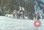 Image of avalanche Alta Utah USA, 1950, second 8 stock footage video 65675059576