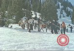 Image of avalanche Alta Utah USA, 1950, second 9 stock footage video 65675059576