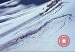 Image of slab avalanche Alta Utah USA, 1950, second 2 stock footage video 65675059577