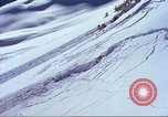 Image of slab avalanche Alta Utah USA, 1950, second 3 stock footage video 65675059577