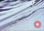 Image of slab avalanche Alta Utah USA, 1950, second 4 stock footage video 65675059577