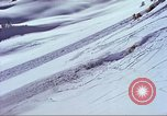 Image of slab avalanche Alta Utah USA, 1950, second 5 stock footage video 65675059577