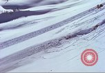 Image of slab avalanche Alta Utah USA, 1950, second 6 stock footage video 65675059577