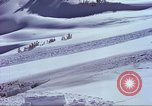 Image of slab avalanche Alta Utah USA, 1950, second 9 stock footage video 65675059577