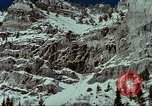 Image of forecasting avalanche Alta Utah USA, 1950, second 2 stock footage video 65675059579