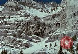 Image of forecasting avalanche Alta Utah USA, 1950, second 4 stock footage video 65675059579