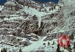 Image of forecasting avalanche Alta Utah USA, 1950, second 6 stock footage video 65675059579