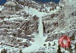 Image of forecasting avalanche Alta Utah USA, 1950, second 12 stock footage video 65675059579