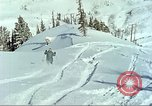 Image of test skiing Alta Utah USA, 1950, second 3 stock footage video 65675059582
