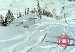 Image of test skiing Alta Utah USA, 1950, second 4 stock footage video 65675059582