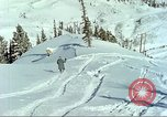 Image of test skiing Alta Utah USA, 1950, second 5 stock footage video 65675059582