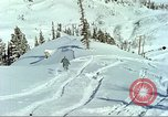 Image of test skiing Alta Utah USA, 1950, second 6 stock footage video 65675059582