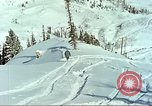Image of test skiing Alta Utah USA, 1950, second 9 stock footage video 65675059582