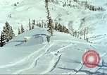 Image of test skiing Alta Utah USA, 1950, second 10 stock footage video 65675059582