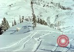 Image of test skiing Alta Utah USA, 1950, second 12 stock footage video 65675059582