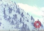 Image of test skiing Alta Utah USA, 1950, second 12 stock footage video 65675059583