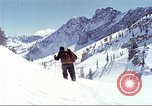 Image of avalanche Alta Utah USA, 1950, second 9 stock footage video 65675059588