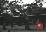 Image of P-38 aircraft South Pacific Ocean, 1943, second 12 stock footage video 65675059601