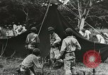 Image of Allied soldiers Goodenough Island New Guinea, 1944, second 9 stock footage video 65675059608