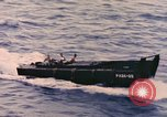 Image of Sailors in Higgins Boat from USS Cambria Pacific Ocean, 1944, second 11 stock footage video 65675059653