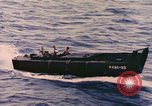 Image of Sailors in Higgins Boat from USS Cambria Pacific Ocean, 1944, second 12 stock footage video 65675059653