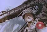 Image of United States Marines in combat on Saipan Saipan Northern Mariana Islands, 1944, second 11 stock footage video 65675059655
