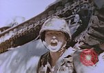 Image of United States Marines in combat on Saipan Saipan Northern Mariana Islands, 1944, second 12 stock footage video 65675059655