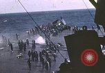 Image of USS Intrepid Pacific Ocean, 1945, second 4 stock footage video 65675059669