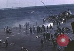 Image of USS Intrepid Pacific Ocean, 1945, second 6 stock footage video 65675059669