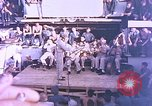 Image of Lieutenant Commander Eddie Peabody and troupe entertain sailors Ulithi Caroline Islands, 1944, second 3 stock footage video 65675059677