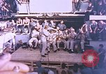 Image of Lieutenant Commander Eddie Peabody and troupe entertain sailors Ulithi Caroline Islands, 1944, second 6 stock footage video 65675059677