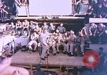 Image of Lieutenant Commander Eddie Peabody and troupe entertain sailors Ulithi Caroline Islands, 1944, second 8 stock footage video 65675059677