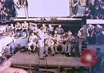 Image of Lieutenant Commander Eddie Peabody and troupe entertain sailors Ulithi Caroline Islands, 1944, second 11 stock footage video 65675059677