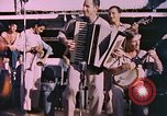 Image of sailors playing instruments Pacific Ocean, 1944, second 4 stock footage video 65675059679
