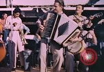 Image of sailors playing instruments Pacific Ocean, 1944, second 6 stock footage video 65675059679