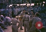 Image of sailors playing instruments Pacific Ocean, 1944, second 9 stock footage video 65675059679