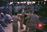 Image of sailors playing instruments Pacific Ocean, 1944, second 10 stock footage video 65675059679