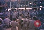 Image of sailors playing instruments Pacific Ocean, 1944, second 12 stock footage video 65675059679